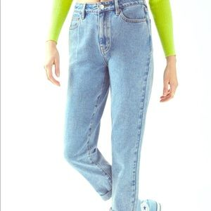 Mom jeans pac sun size 0-00